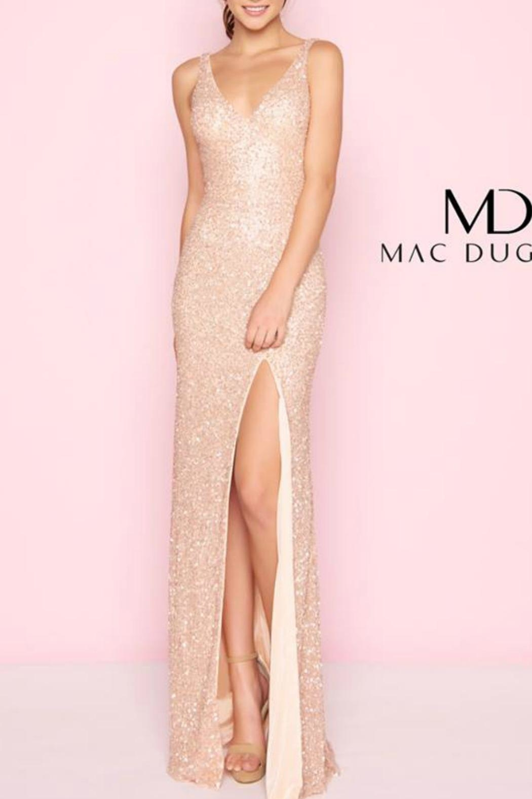 Mac Duggal Rose Gold Gown - Main Image