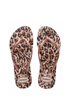 Havaianas Rose Gold Leopard - Alternate List Image