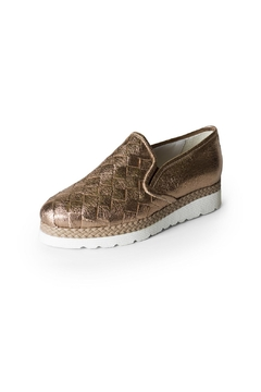 Lady Doc Rose-Gold Metallic Sneaker - Product List Image