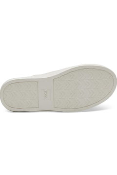 TOMS Rose Gold Metallic Woven Cheetah Youth Luca Slip-Ons - Alternate List Image