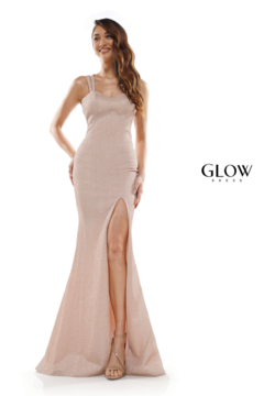 glow by colors Rose Gold Shimmer Gown - Product List Image