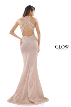 glow by colors Rose Gold Shimmer Gown - Alternate List Image