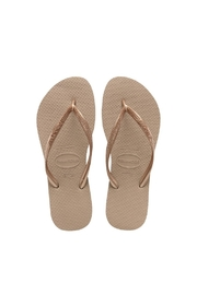 Havaianas Rose Gold Slim - Product Mini Image