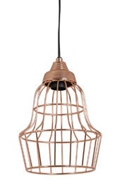 The Birch Tree Rose Gold Wire Light 2 - Front cropped