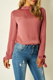 frontrow Rose High-Neck Blouse - Product Mini Image