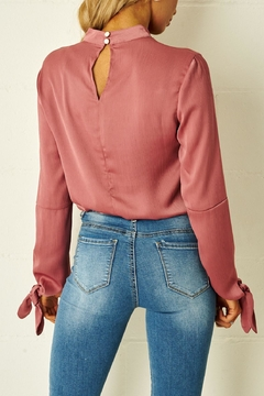 frontrow Rose High-Neck Blouse - Alternate List Image