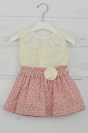 Granlei 1980 Rose & Ivory Outfit - Front cropped