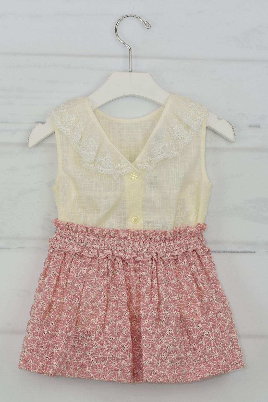 Granlei 1980 Rose & Ivory Outfit - Front Full Image
