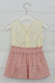 Granlei 1980 Rose & Ivory Outfit - Front full body