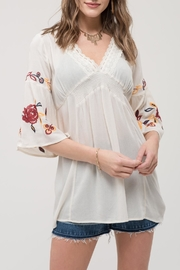 Blu Pepper Rose Kiss Top - Product Mini Image