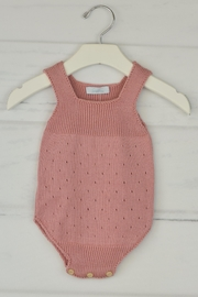 Granlei 1980 Rose Knitted Onesie - Front cropped