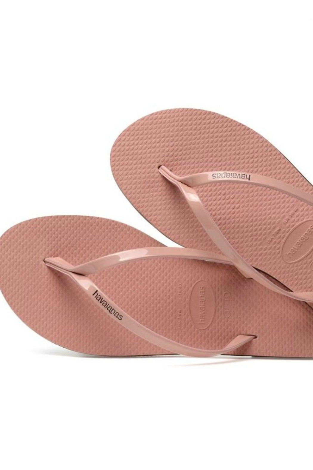 843e12d38 Havaianas Rose Metallic Flipflops from Florida by LulaMae — Shoptiques