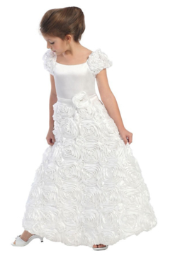 Calla Collection  Rose Patch Gown - Product List Image