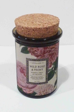 L'apothicaire Co. Rose Peony Candle - Alternate List Image
