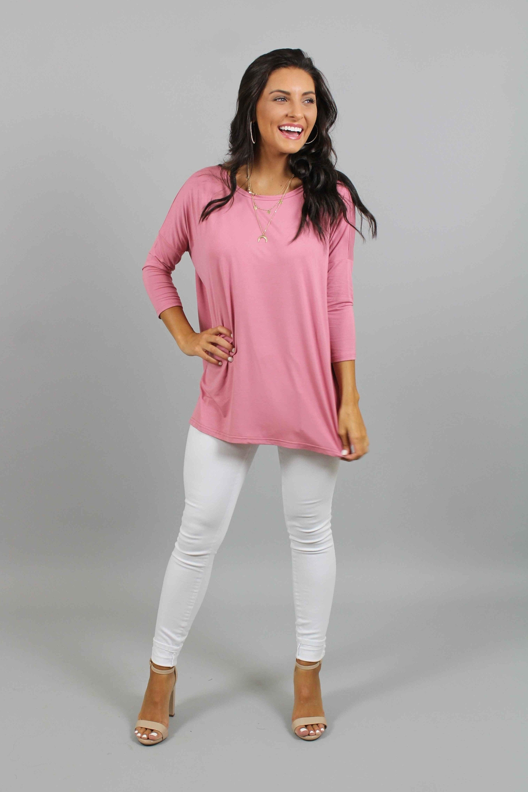 Piko  Rose Top - Front Cropped Image