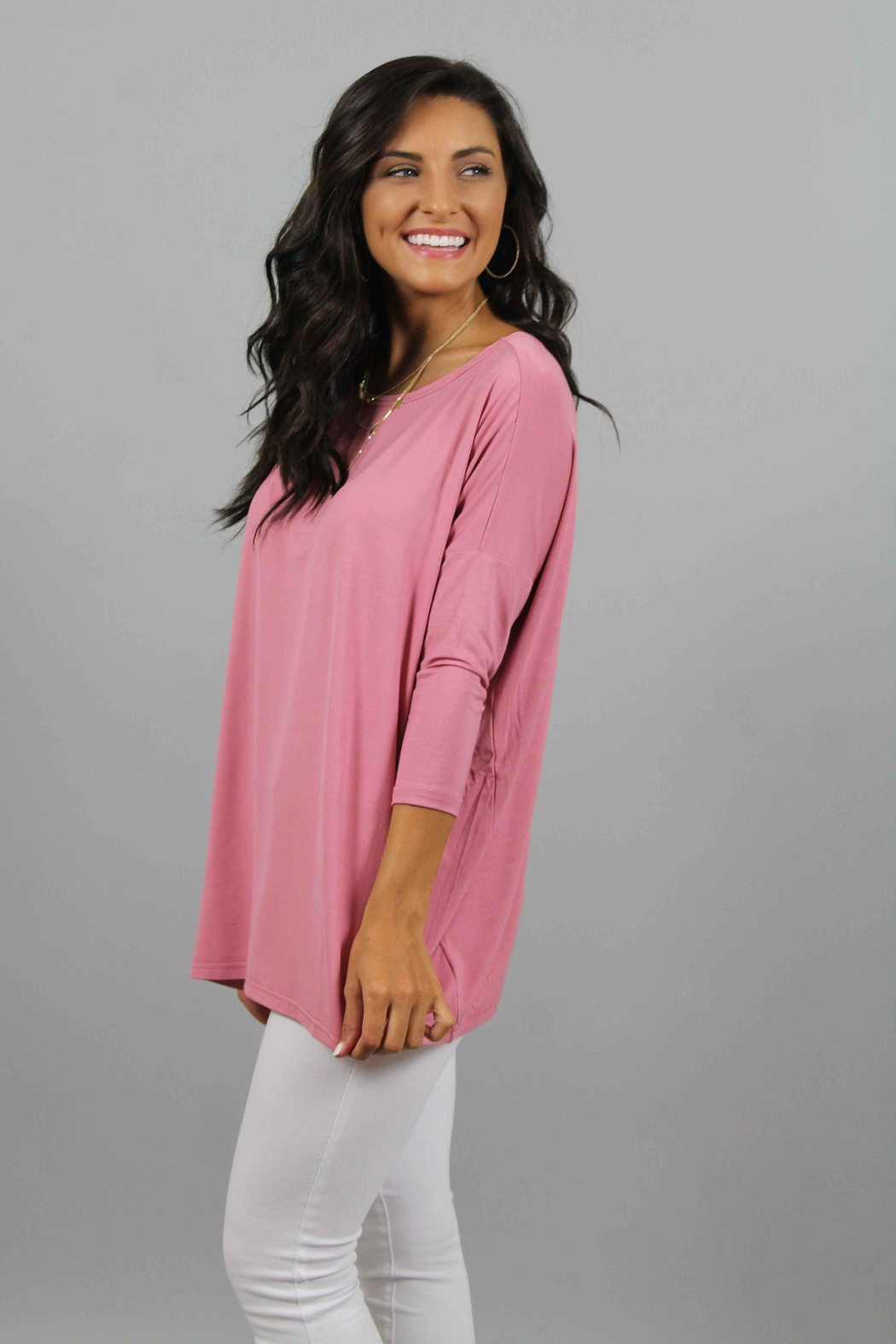 Piko  Rose Top - Front Full Image