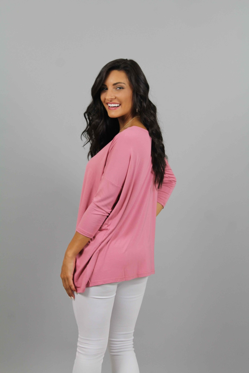 Piko  Rose Top - Side Cropped Image