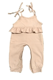 Lady Charm Rose Pink Jumpsuit - Front cropped