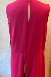 Joseph Ribkoff  Rose pink tunic top - Front full body