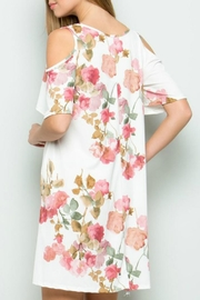 ee:some Rose Print Dress - Front full body