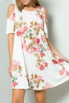 ee:some Rose Print Dress - Product List Image