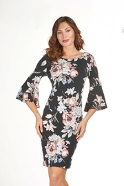 Frank Lyman Rose Print Dress - Product Mini Image
