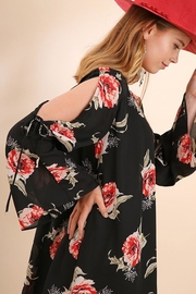 Umgee USA Rose Print Dress - Product Mini Image