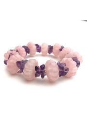 Beth Friedman Rose-Quartz Amethyst Bracelet - Product Mini Image