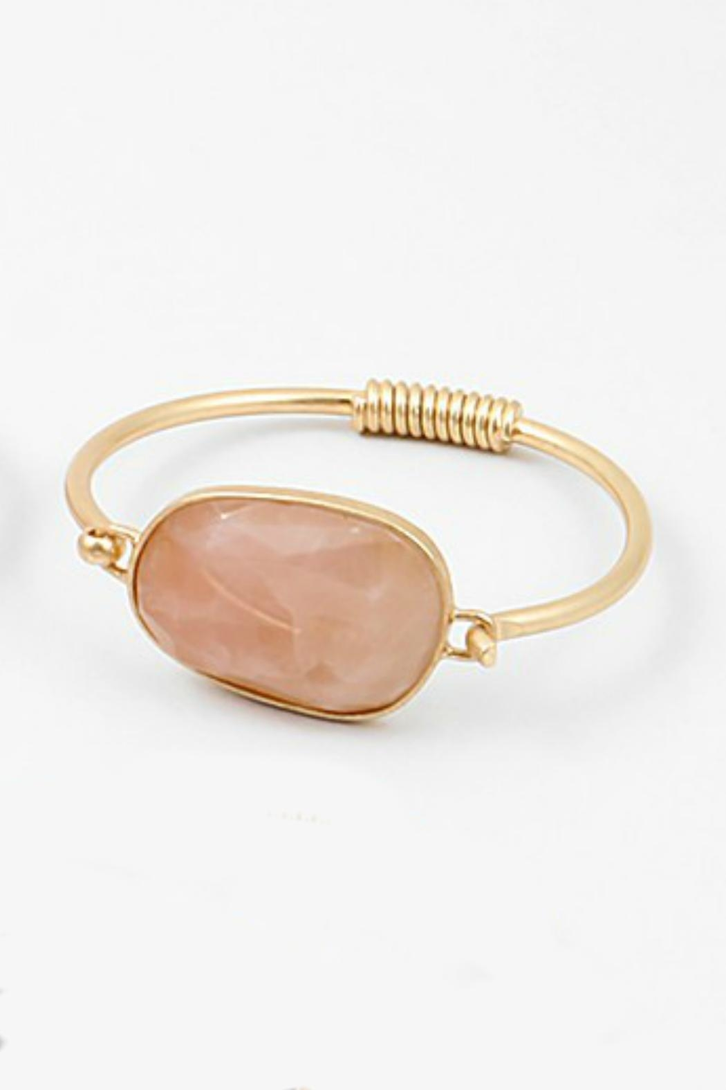 Embellish Rose Quartz Bracelet - Main Image