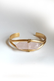 Larissa Loden Rose Quartz Bracelet - Product Mini Image