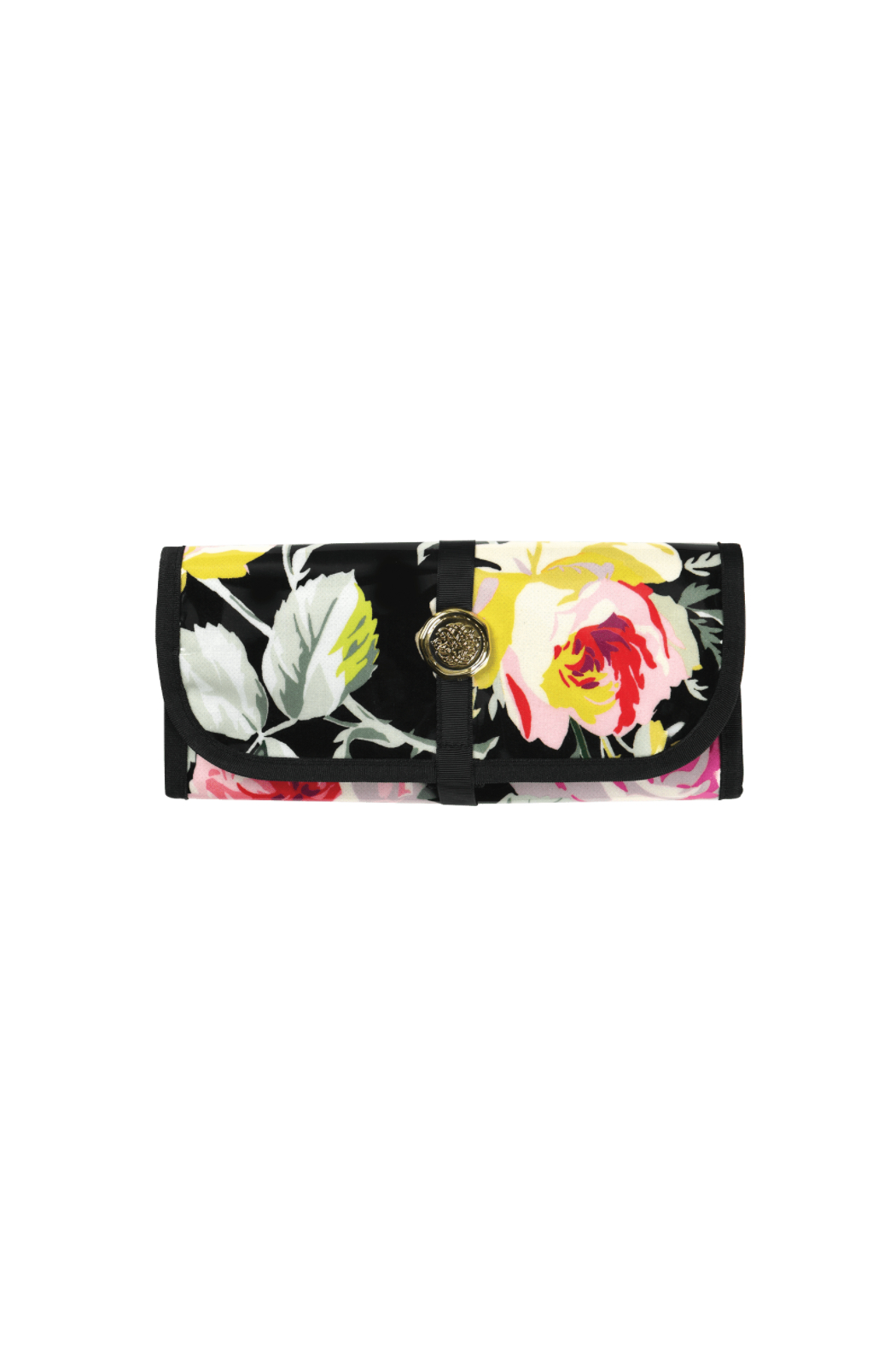 Anna Griffin Rose Ribbon Jewelry Roll - Front Cropped Image