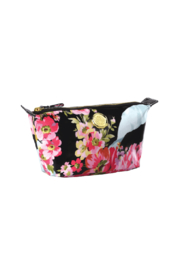 Anna Griffin Rose Ribbon Small Cosmetic Bag - Front cropped