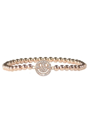 Jaimie Nicole Rose Smiley-Face Bracelet - Product Mini Image