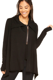 Terez Rose Zip Drape Jacket - Product Mini Image