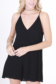 Shoptiques Product: Black Marilyn Romper