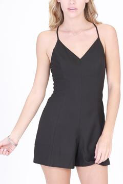 Shoptiques Product: Black Rose Romper