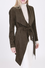 Rose & Eye Brown Suede Jacket - Product Mini Image