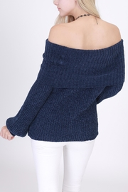Rose & Eye Colette Chenille Cowl - Side cropped