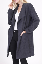 Rose & Eye Connie Car Coat - Front cropped
