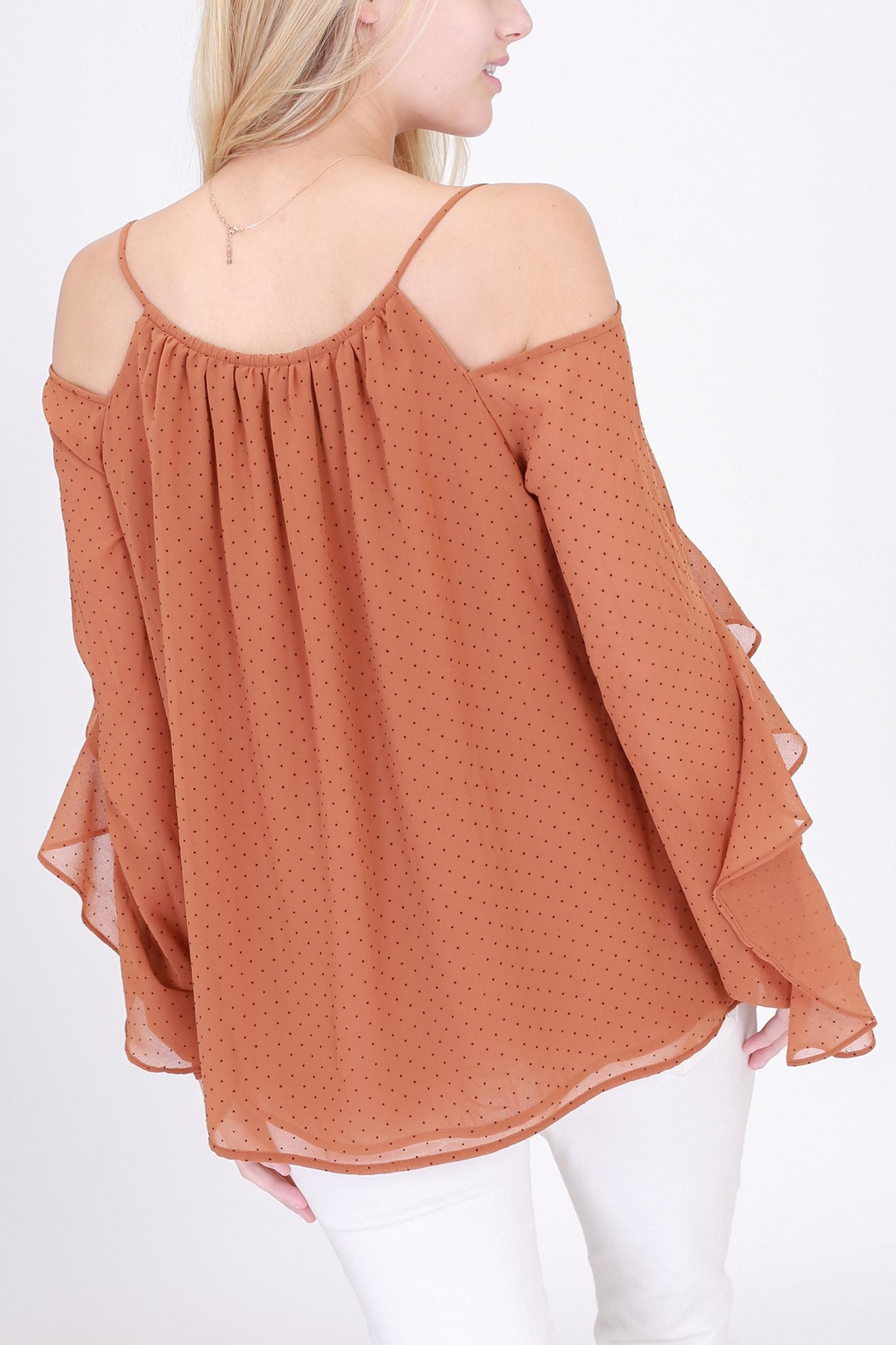 Rose & Eye Consuelo Romantic Blouse - Side Cropped Image