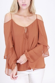 Rose & Eye Consuelo Romantic Blouse - Front cropped