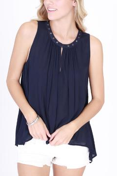 Shoptiques Product: Gia Navy Tunic Top