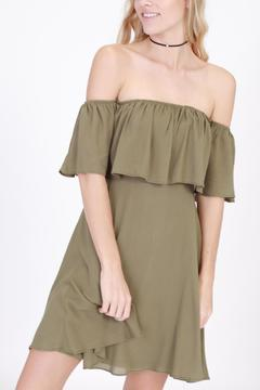 Shoptiques Product: Margarita Olive Dress