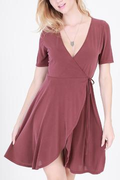 Shoptiques Product: Marsala Wrap Dress