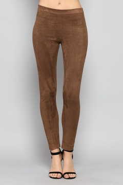 Rose & Eye Mocha Sude Leggings - Product List Image