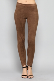 Rose & Eye Mocha Sude Leggings - Product Mini Image