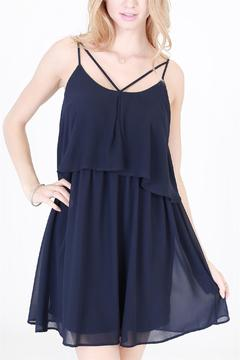 Shoptiques Product: Navy Clarissa Dress