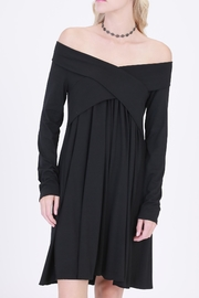 Rose & Eye Olivia Black Dress - Product Mini Image