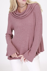 Rose & Eye Pink Cowl Neck - Product Mini Image