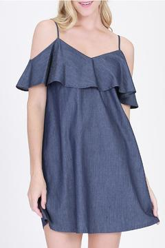 Shoptiques Product: Terri Indigo Dress